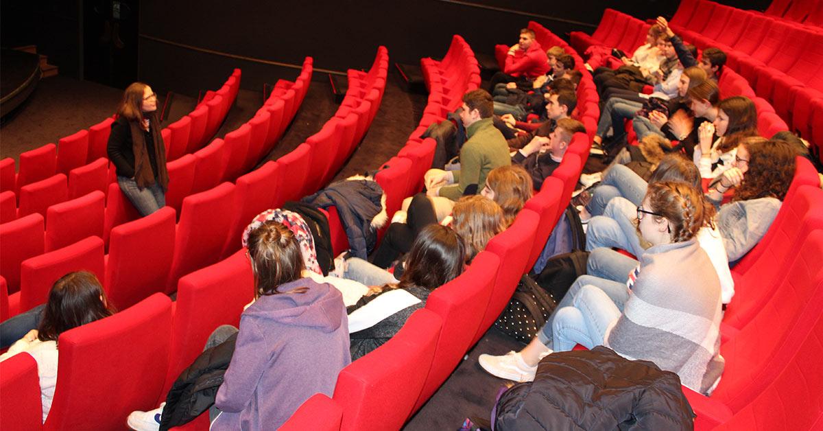 Projet «Lycéens au cinéma»